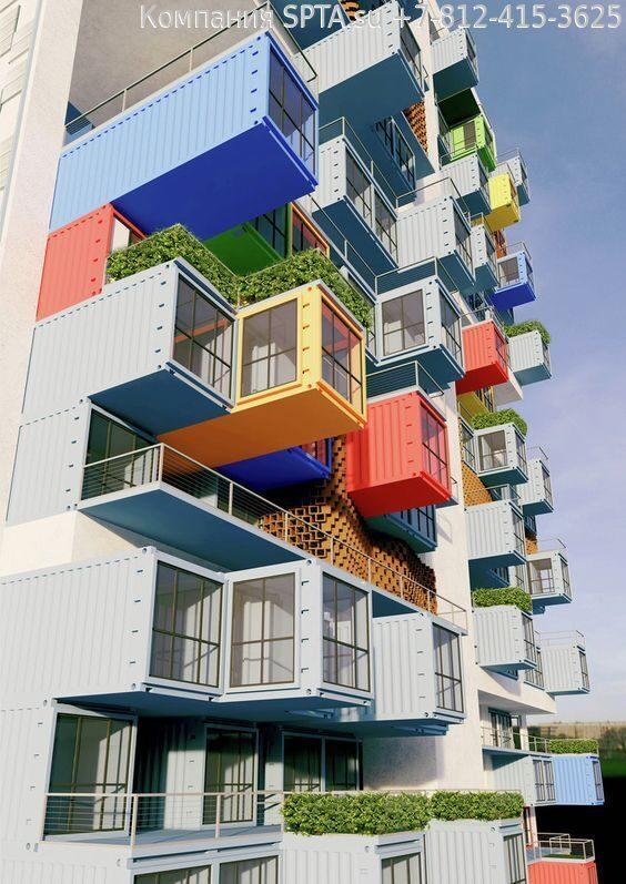 Идеи проекта домов из морских контейнеров (28)
