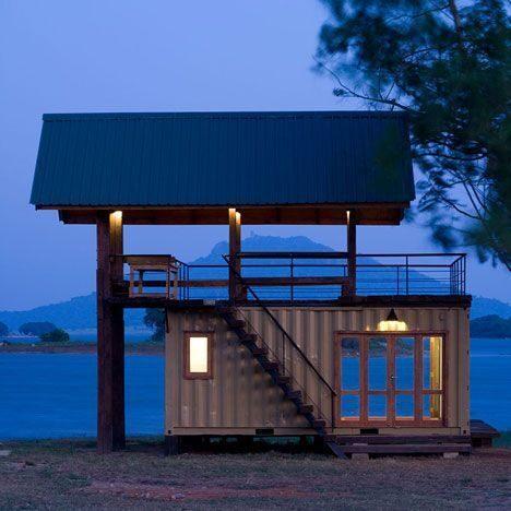 Идеи проекта домов из морских контейнеров (35)