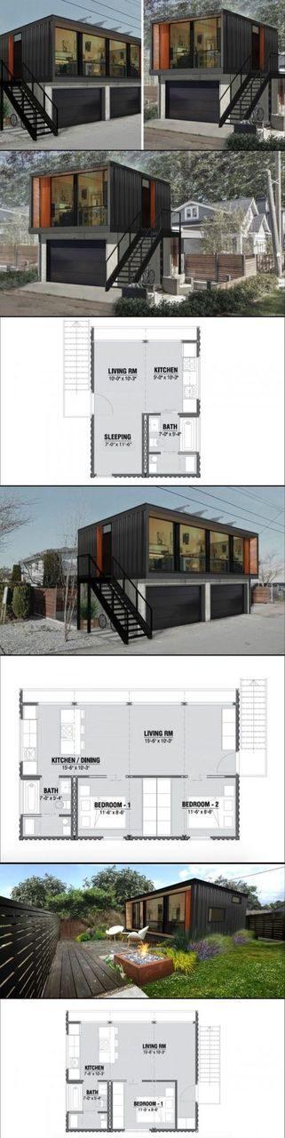 Идеи проекта домов из морских контейнеров (36)