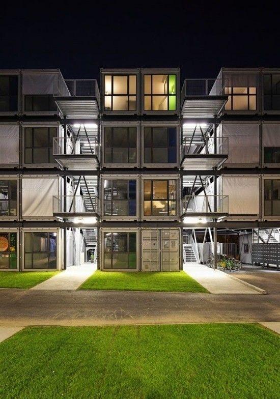 Идеи проекта домов из морских контейнеров (38)