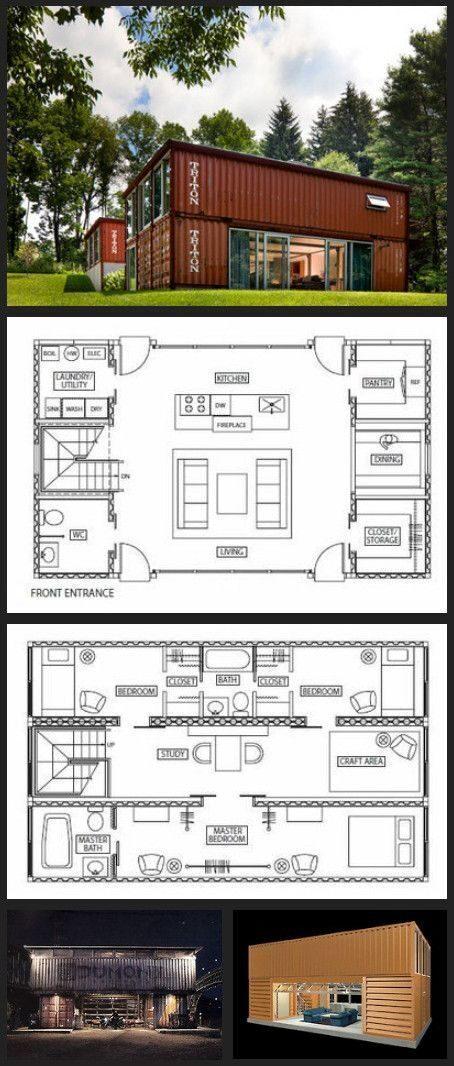 Идеи проекта домов из морских контейнеров (41)